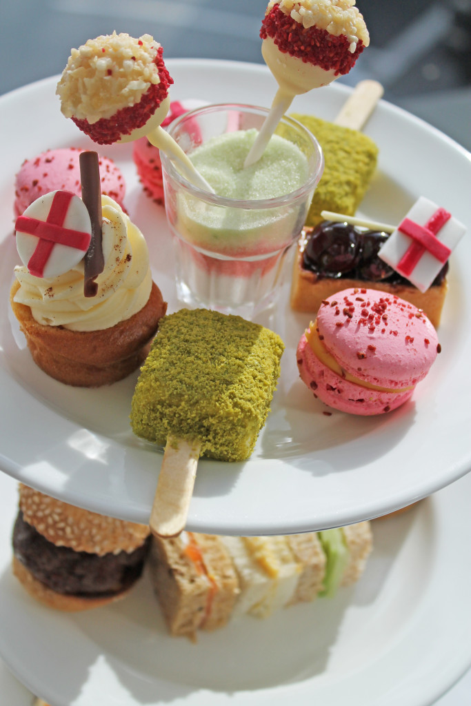 St Georges Day Afternoon Tea at Lancaster London (1)