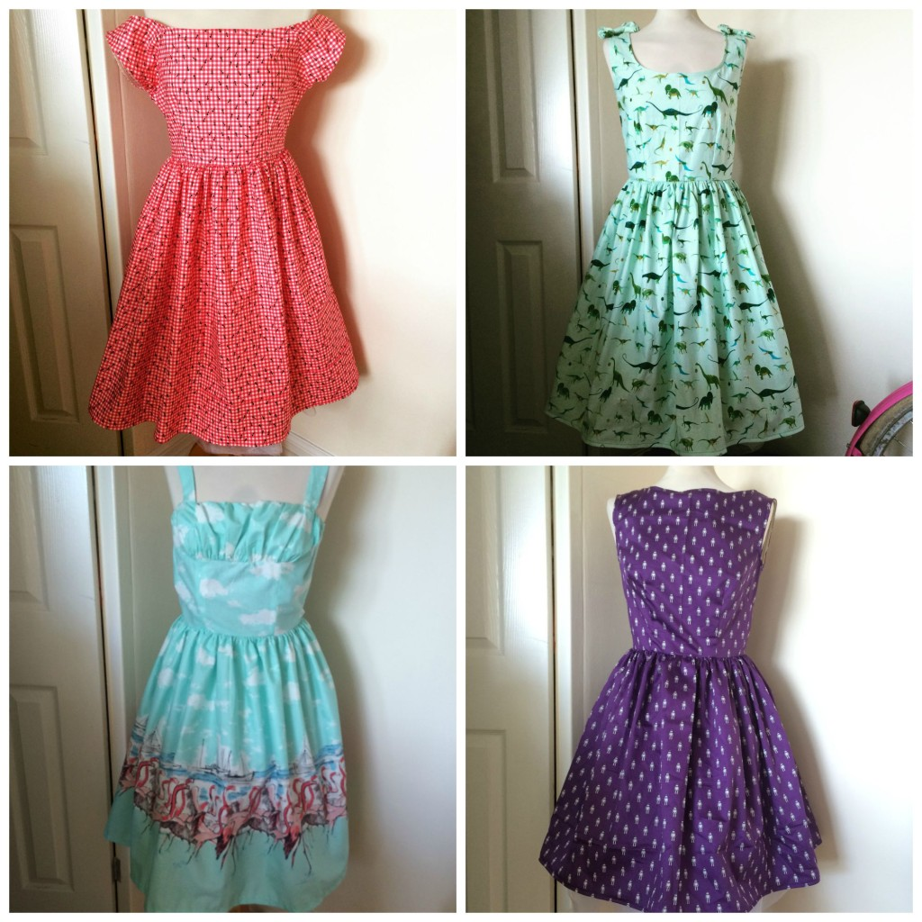 Dresses Collage